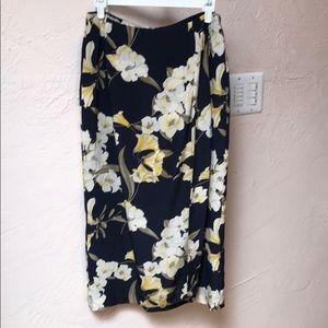 Gorgeous silk long skirt size 10